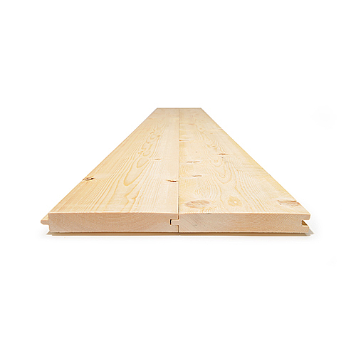 Level sawn timber; tongue and groove (on request)